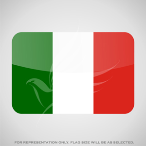 Outdoor Flags, Penguin Super Silk, Italy National Flag - Various Sizes
