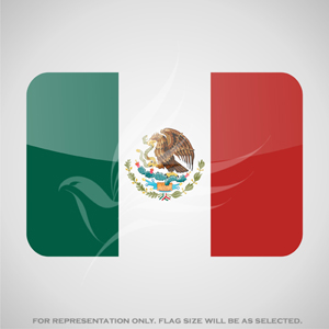 Outdoor Flags, Penguin Super Silk, Mexico National Flag - Various Sizes