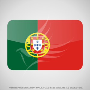 Outdoor Flags, Penguin Super Silk, Portugal National Flag - Various Sizes