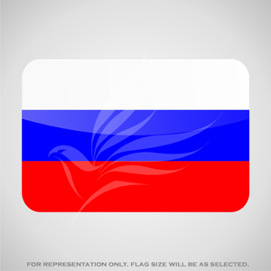 Outdoor Flags, Penguin Super Silk, Russia National Flag - Various Sizes