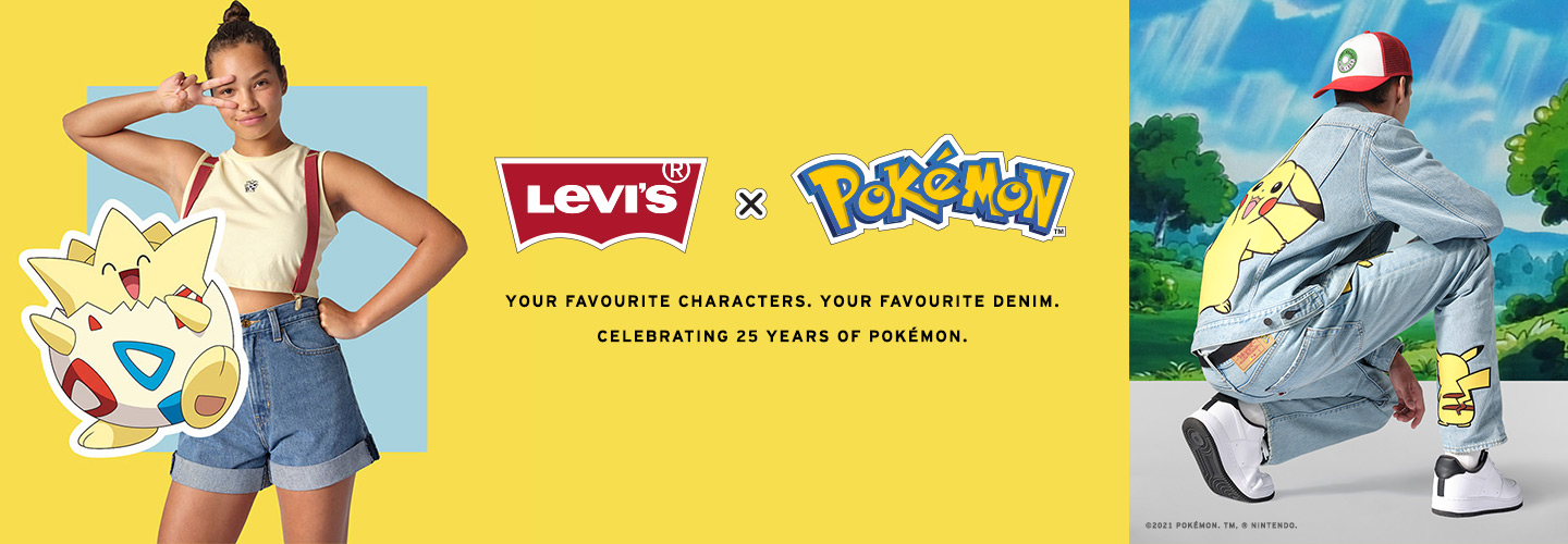 levis indonesia - pokemon